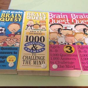 Brainquest cards Grade 3 ages 8-9